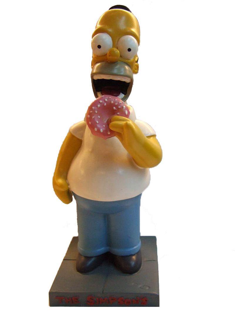 Figurine pop Homer Simpson  Les Simpson  Funko Pop! Vinyl